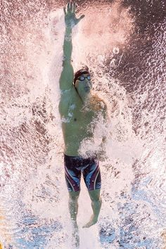 #RIO2016 USA's Nathan Adrian takes part in the Men's 100m Freestyle Final during…
