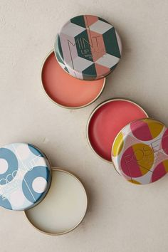Topista - Lip Salve by Land Over Sea. #anthropologie - Tin Packaging.