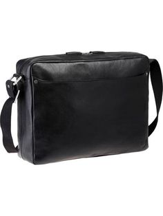 This bag has a slim, modern appeal, perfect for everyday life. It can be used to keep all your essential items secure for the office, school, or travel. The padded interior compartment is great for keeping your laptop from getting damaged or lost.