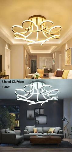 Is Bulbs Included: Yes Usage: Daily lighting Number of light sources: > 20 Body Material: Ironware + Acrylic Finish: Iron Lighting Area: 15-30square meters Install Style: Surface mounted Is Dimmable: Yes Base Type: Wedge Switch Type: Remote Control Application: Foyer Application: Bed Room Application: Dining Room Application: Bathroom Application: Study Technics: Painted Model Number: PL9648 Item Type: Ceiling Lights Light Source: LED Bulbs Style: Contemporary Warranty: 2 Power Source: AC
