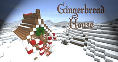 Gingerbread House Minecraft Project