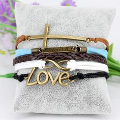 https://godsgloryjewelry.com/collections/bracelets/products/leather-jesus-cross-bracelet One of our #favorites! We #hope you #love it to. #whatwouldjesuswear #jesus #praise #god #jewelry #godsgloryjewelry