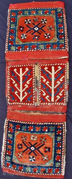 West Anatolian heybe. A complete example which dates from the late 19th.c./early 20th.c.