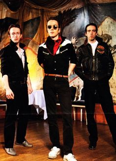 Joe Strummer, Topper Headon and Mick Jones