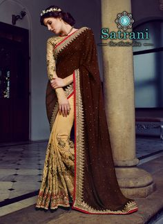 Splendiferous Designer Saree For Ethnic Collection(60S)  Please visit below link http://www.satrani.com/sarees&catalog=573  For more queries,  email id: inquiry@satrani.com Contact no.: 09737746888(whats app available)