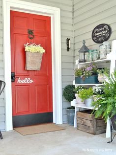 Beautiful spring days calls for relaxing on your front porch. We have 11 inviting spring front porches to help you refresh your own front porch. Our DIY vertical succulent gardenis an easy weekend project that could also be filled with spring flowers to really spruce up your porch. We also have a tutorial on how …