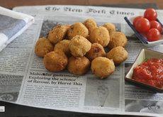 Las croquetas de Francis Paniego. Receta Chefs, Ethnic Recipes, Food, Vegetables, Egg Wash, Coconut Cream, Essen, Meals, Yemek