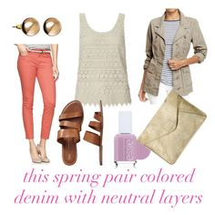 jillggs good life (for less)   a style blog: TOP TEN for spring: colored denim!
