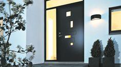 Entrance   Black door   Side/Top windows   White house   Funkis   SWEDOOR