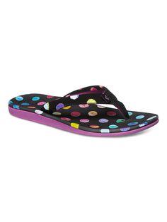 Gust - Roxy Sandalen für Frauen  Die Gust sind Teil der Roxy Spring/Summer Footwear Collection 2015. Diese Sandalen für Frauen zeichnen sich durch Obermaterial Synthetik, Zehentrenner und Futter aus Polyestergewebe aus. Weitere besondere Features sind: Ton-in-Ton-Absteppung und Obermaterial aus 100% PU, Innenfutter: 100% Textil, Außensohle: 100% EVA.  Merkmale:  Roxy Sandalen, Obermaterial S...