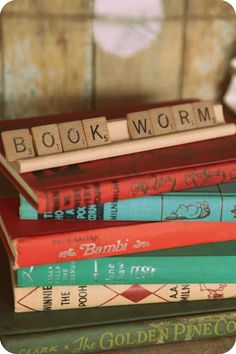 Book worm party