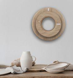 A minimalist wall cl