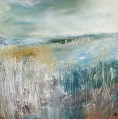 Another Winter, Mixed Media by Lesley Birch