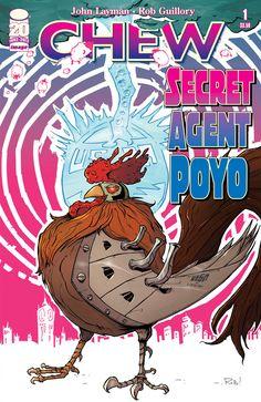 Chew: Secret Agent Poyo #1 (One-Shot)