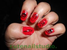 Round Acrylic Nails Designs ...