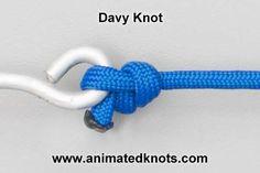 Tutorial on Davy Knot Tying