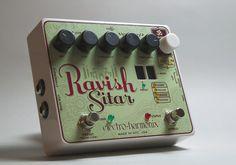"Electro-Harmonix Ravish Sitar  ""No One Trick Pony"" guitar pedals"