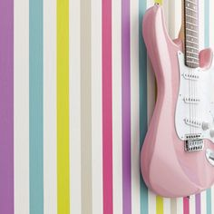 """We literally marvel at this collection of sparkling eclecticism and definitely trendy """"girly"""" thematic whose resonances seduce girls of today : Baroque arabesques, discreet dimples, magazine pages. Teen Girl Rooms, Glamour, Love Wallpaper, Arabesque, Baroque, Girly, Stickers, Interior Design, Fabric"""