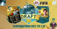"Let's Play FIFA 16 FUT Draft #1 ""BEST LEGEND & RONALDO IF"" [XBox360 Game..."