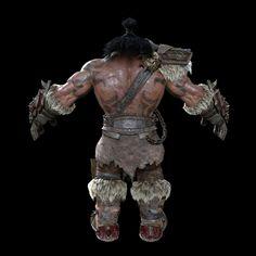 blizzard cinematic world of warcraft Grommash by Alvaro Buendia and Yonghyun Kim