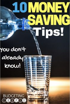 10 Money Saving Tips You Don't Already Know | Save Money | How to Save Money | Frugal Living | Budgeting | Budgetingcouple.com #SaveMoney #MoneySavingTips #Budgetingcouple