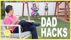 Move over mom, dad needs his own hashtag. #DadHacks ! Just in time for Fathers Day, enjoy 10 these awesome hacks. Subscribe to WUM for new vids M-W-F!...