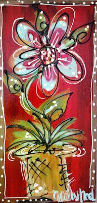 Emily's Original Art: Whimsical Wall Art