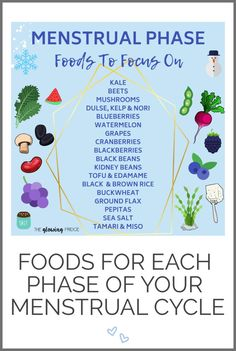 Happy Hormone Foods - Foods for each phase of your menstrual cycle! Vegan and plant-based. Supportive and nutritious foods for the follicular phase, ovulation, luteal phase and menstrual phase! Foods To Balance Hormones, How To Regulate Hormones, Balance Hormones Naturally, Pms, Food For Period, Menstrual Cycle Phases, Hormone Diet, Fertility Foods, Hormone Balancing