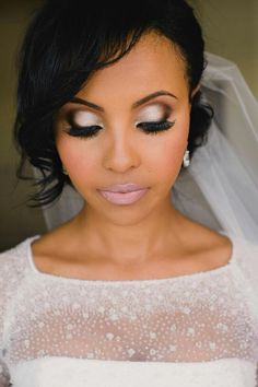Bridal Makeup Looks For Black Brides | Makeupsite.co