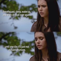 TVD Vampire Diaries, Wake Up, Breathe, Entertainment, Words, Quotes, Movies, Movie Posters, Quotations