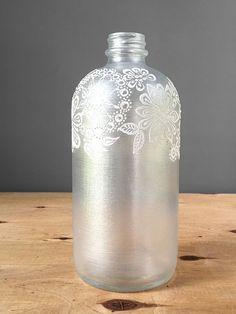 Neutro tonica Decor vaso di vetro bottiglia vaso gemma di LITdecor