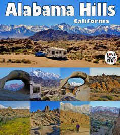 Camping Hiking and Photographing Alabama Hills Free BLM Camping Near Lone Pine California by the Love Your RV blog - http://www.loveyourrv.com/return-visit-incredible-alabama-hills-california/