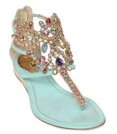 Beautiful Jeweled Sandal
