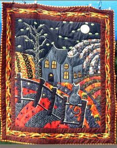 halloween 1904 quilt pattern - Google Search
