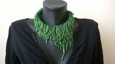 Colier verde Dior (120 LEI la aidreamate.breslo.ro) Dior, Handmade, Jewelry, Fashion, Green, Moda, Hand Made, Jewlery, Dior Couture