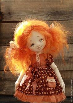 Коллекционные куклы ручной работы. Ярмарка Мастеров - ручная работа Рыжик Сима. Handmade.: