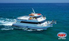 Key West Glass Bottom Boat Tour #keywest #boat #furykeywest