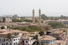 Banjul - capital of Gambia