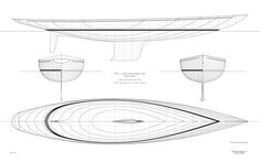 Classic lines drawing (c) Heyman Yachts Guest Cabin, Yacht Design, Boat Plans, Model Ships, Boat Building, Yachts, Concept Art, Sea, How To Plan