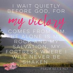 Are you waiting expectantly for victory?? I want to encourage you to begin each day reminding yourself who you are in God's eyes!