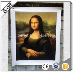 Museum quality 100% handmade mona lisa famous woman portrait oil painting reproduction