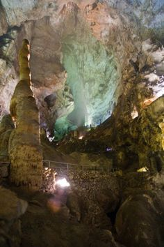 Carlsbad Caverns, New Mexico.  Amazing and breath taking do not even describe its beauty.