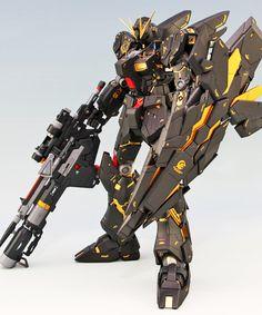 GUNDAM GUY: MG 1/100 Nu Gundam Ver. Ka Kai - Customized Build