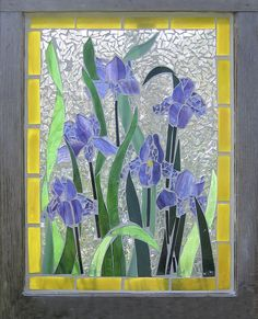 Glass Mosaic Window Art | Like these? Order yours today!