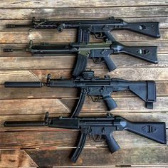 The complete roller lock set! (And a - Weapons Lover Spy Weapons, Zombie Apocalypse Weapons, Revolver Pistol, Battle Rifle, Submachine Gun, Military Guns, Cool Guns, Assault Rifle, Guns And Ammo