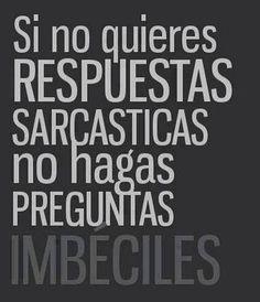 #sarcasmo