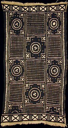 Bogolanfini Mud-Cloth from Mali