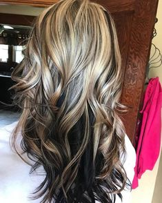 Easy Short Hair Updos That Will Take Eight Minutes or Less – HerHairdos Pelo Color Plata, Hair Color And Cut, Hair Color Highlights, Balayage Hair, Bayalage, Fall Hair, Gorgeous Hair, Locks, Hair Looks