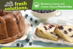 Blueberry, Lemon and Cream Cheese Pound Cake | Save-On-Foods