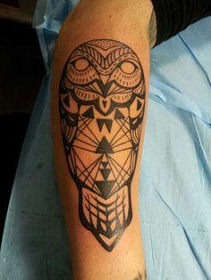 Owl tattoo mylooz.tatouage@gmail.com
